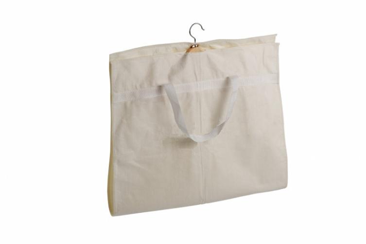 Housse de vtement housse en coton naturel pour vtements for Housse a costume